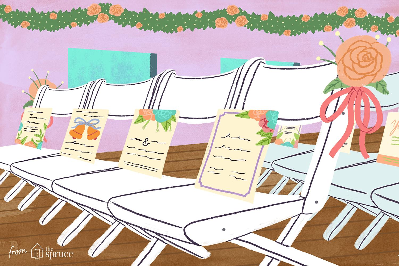 wedding seating illustration