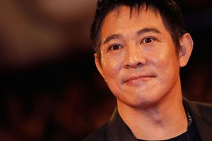 Actor Jet Li attends the 'The Sorcerer And The White Snake' premiere during the 68th Venice Film Festival at Palazzo del Cinema on September 2, 2011 in Venice, Italy