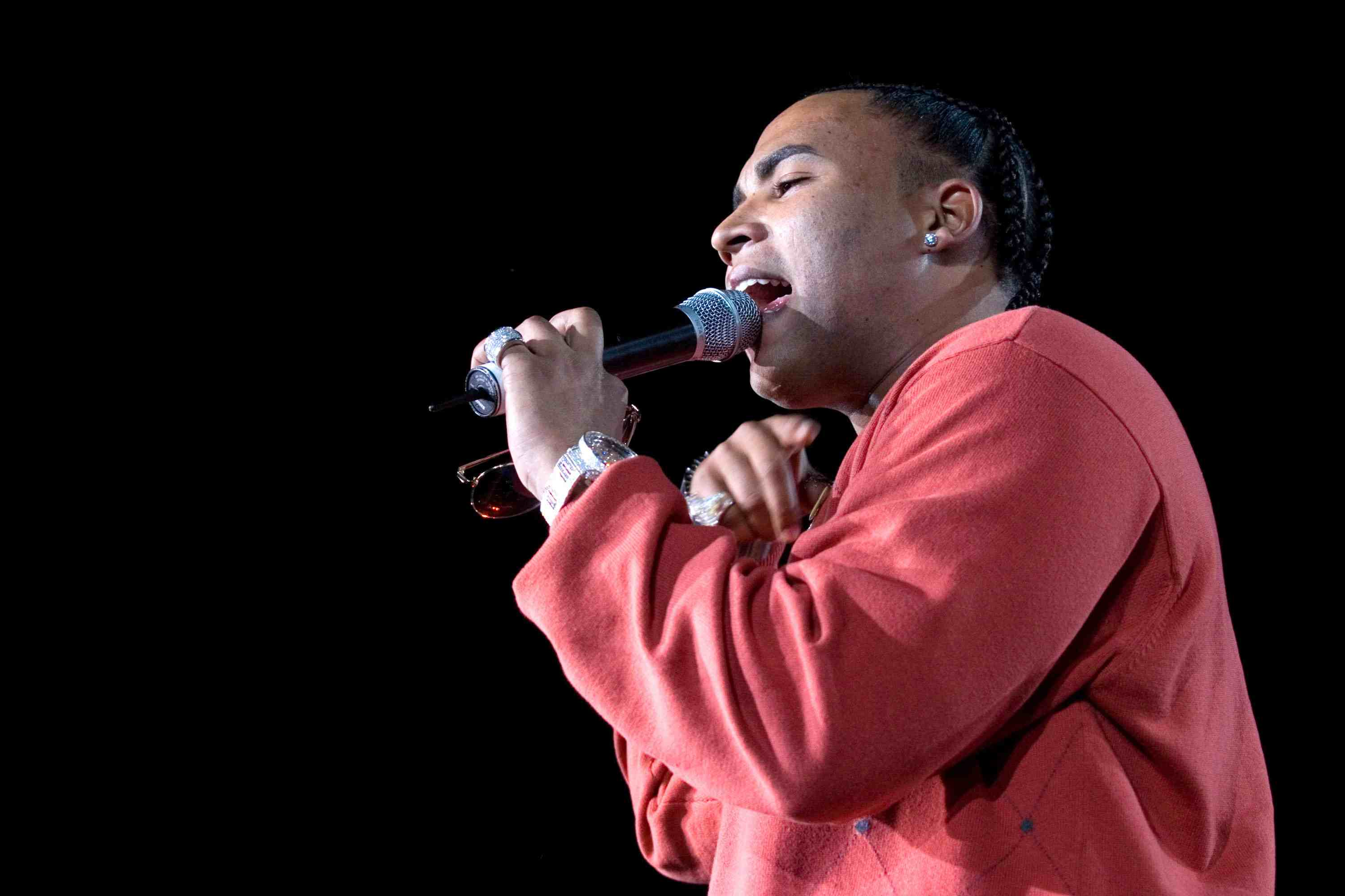 Don Omar during Teleton Mexico 2006 - Day 2 - Concert at Foro Sol in Mexico City, Mexico.