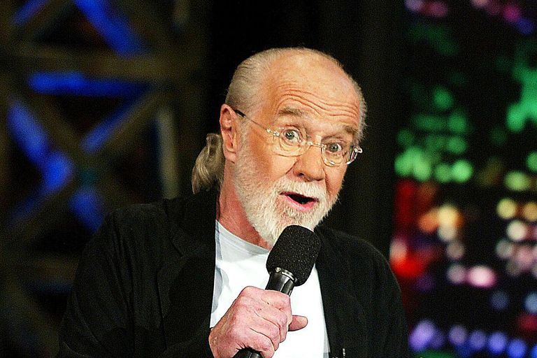 George Carlin Appears on The Tonight Show with Jay Leno