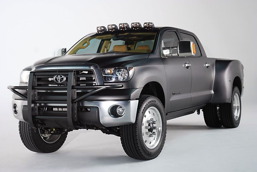 Toyota Tundra Diesel Dually front/side view