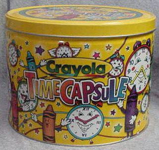 Crayola Time Capsule
