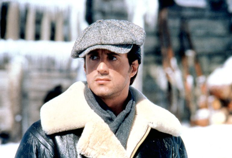 ba442b74 American actor, director and screenwriter Sylvester Stallone on the set of  his movie Rocky IV. (Photo by Sunset Boulevard/Corbis via Getty Images).