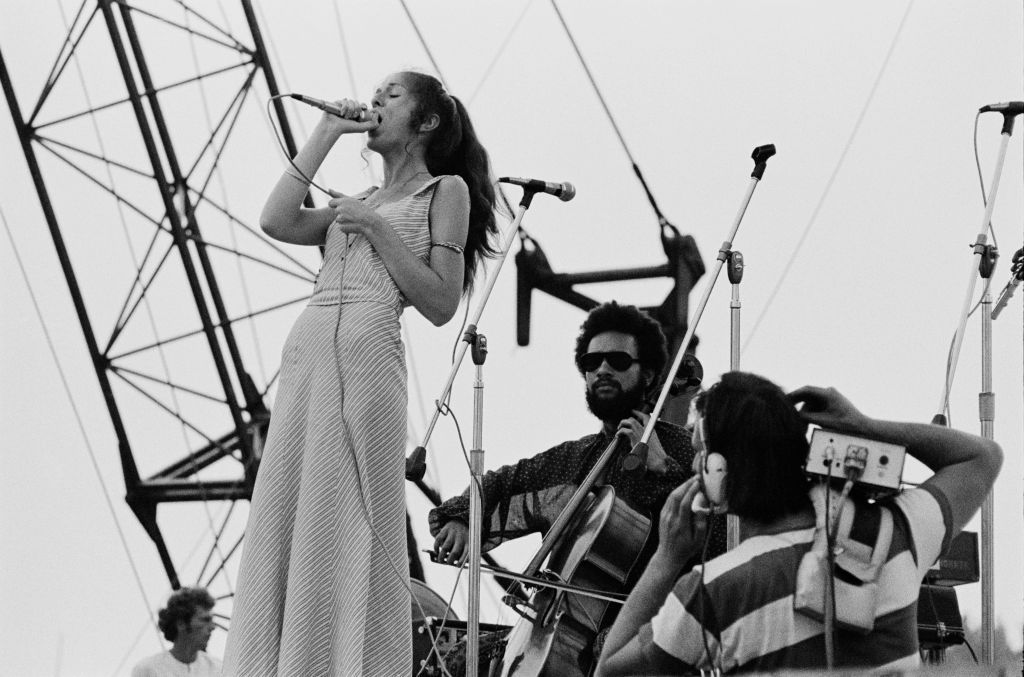 Sweetwater band performing at Woodstock