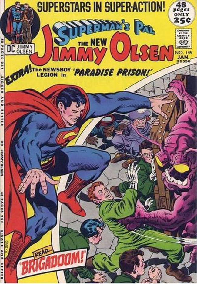 Cover of Superman's Pal, Jimmy Olsen #145