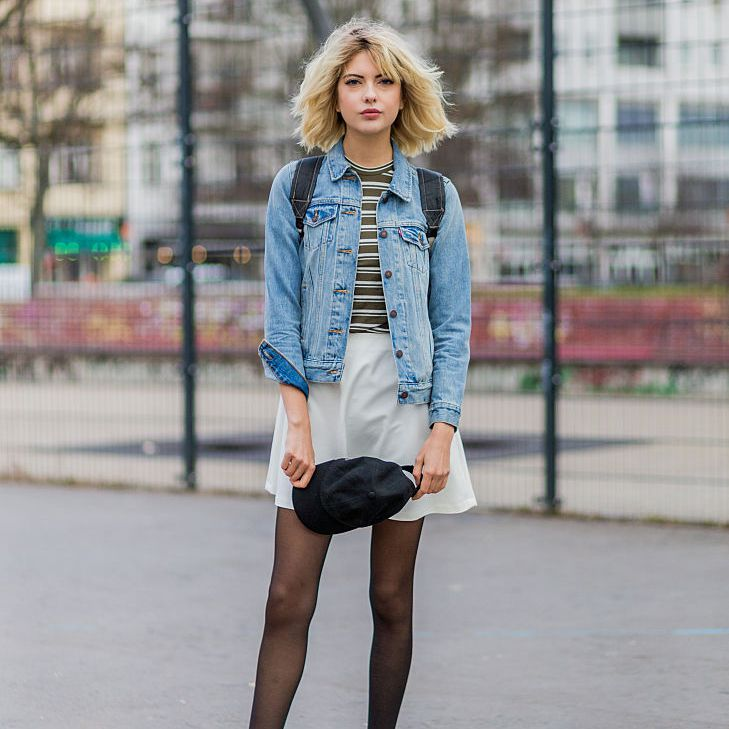 how to serch brand quality best wholesaler Spring Fashion - How to Wear a Denim Jacket and Skirt