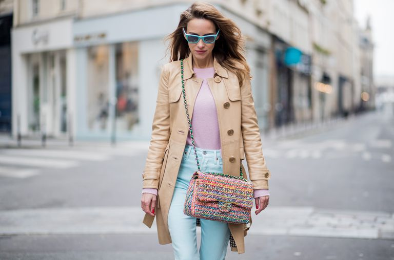 Pastel outfit - street style