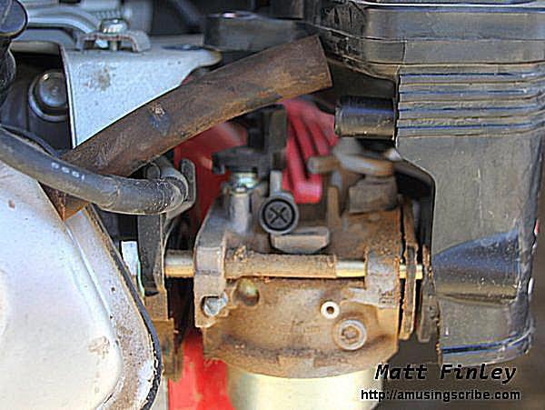 Separate Carburetor From Engine