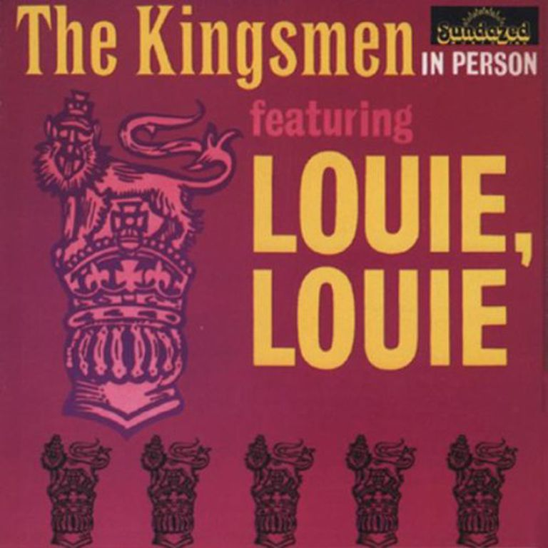 "The Kingsmen's original ""Louie Louie"" album"