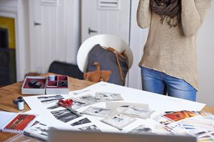 The desk of a creative soul