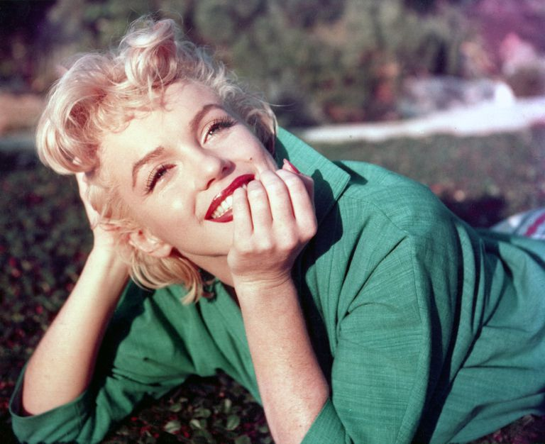 Portrait of a smiling Marilyn Monroe