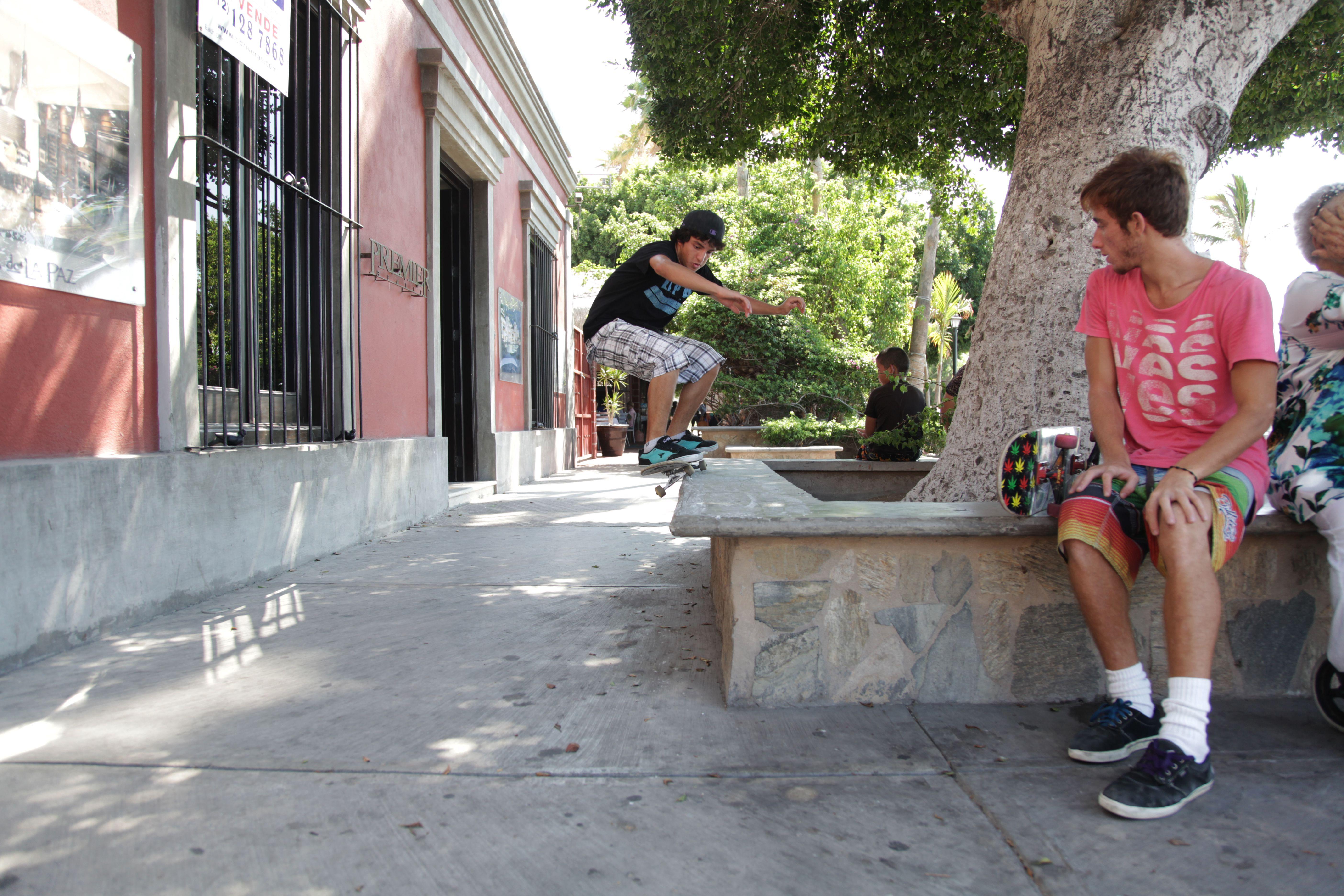 Urban Skateboarders