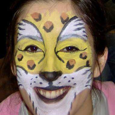 Face Painting Designs -- Leopard
