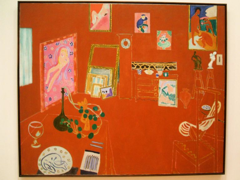 Matisse's Red Studio