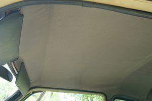 How to fix sagging car headliner