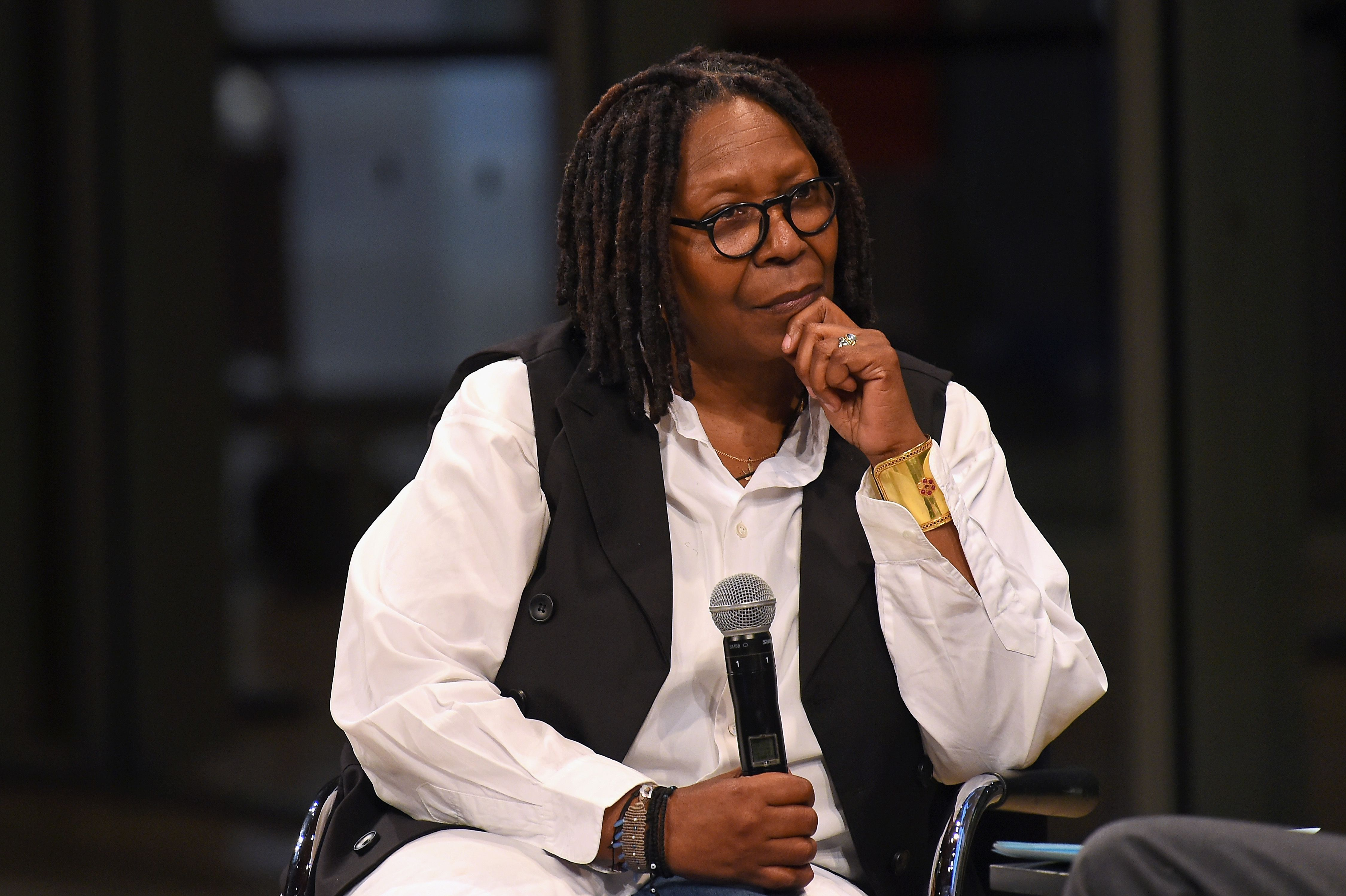 Academy Museum Conversation at The Times Center, Featuring Whoopi Goldberg, Kerry Brougher and Renzo Piano