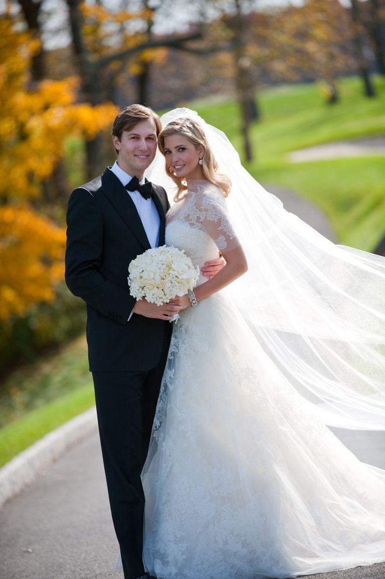 Ivanka Trump in Vera Wang wedding dress