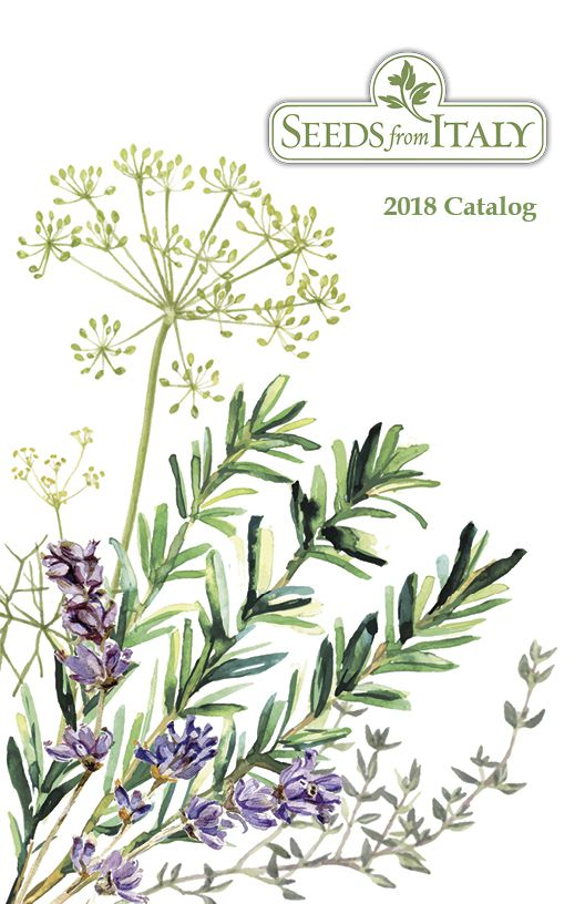 The 2018 Seeds from Italy catalog