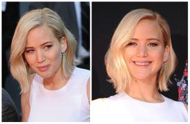 Jennifer Lawrence blonde bob