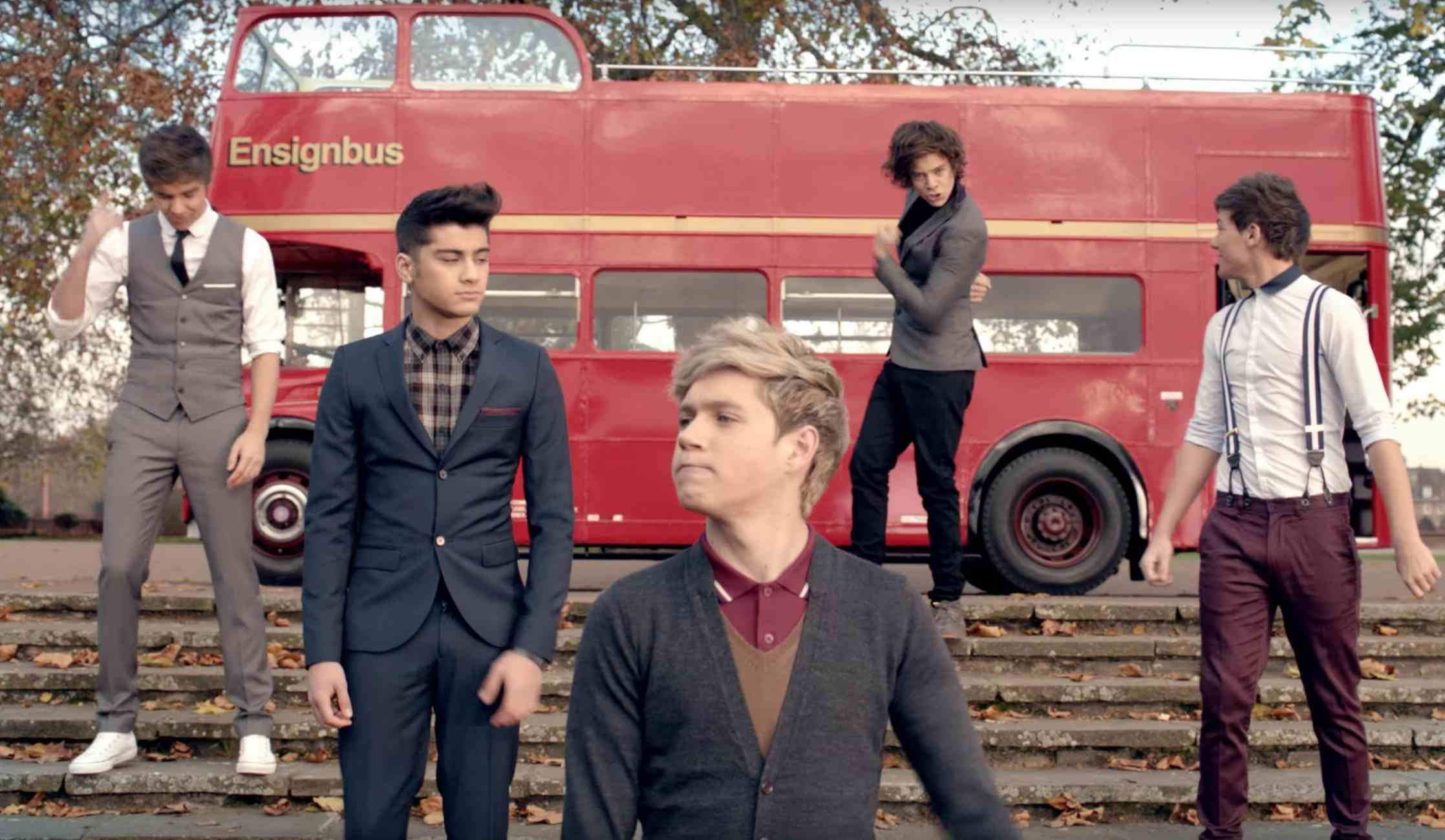 One Direction One Thing Music Video