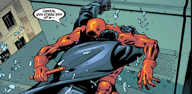 Punisher vs. Daredevil by John McCrea, Crimelab Studios, and Avalon Studios