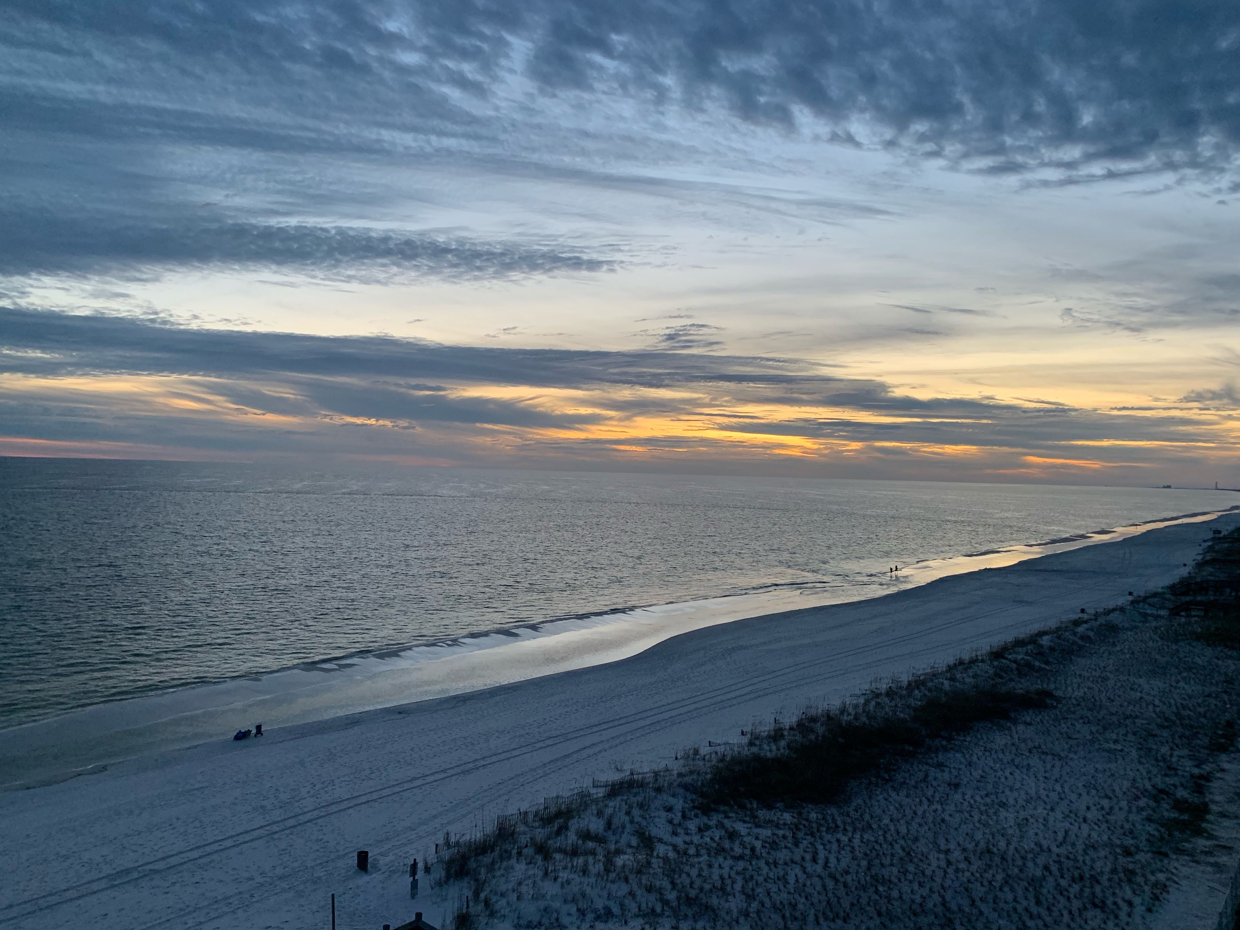 Scenic View Of Fort Walton Beach Against Sky During Sunset