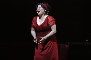 Patricia Racette performs Tosca's Vissi d'Arte