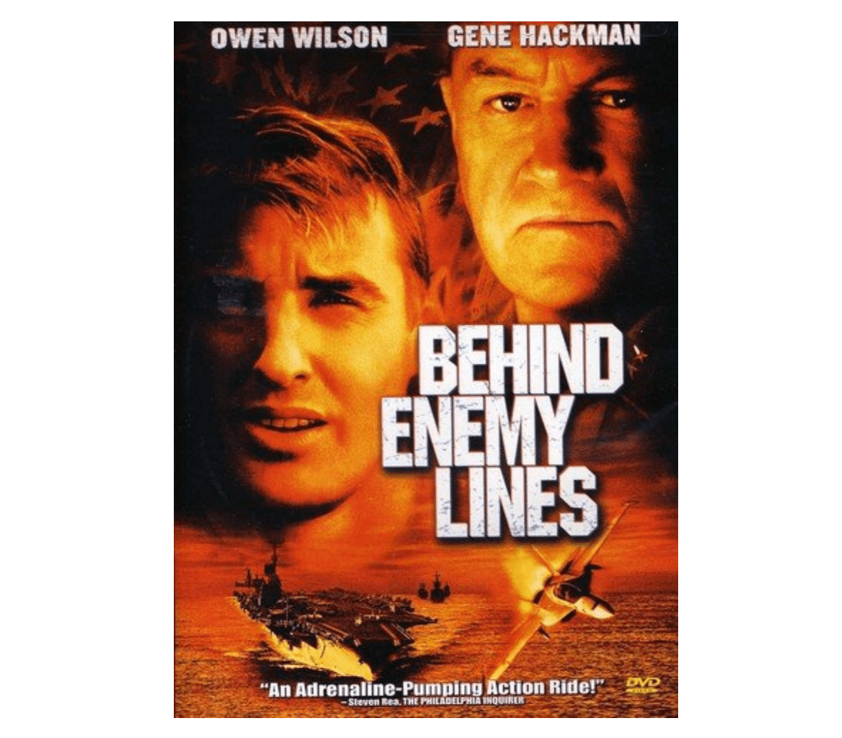 Behind enemy lines dvd cover