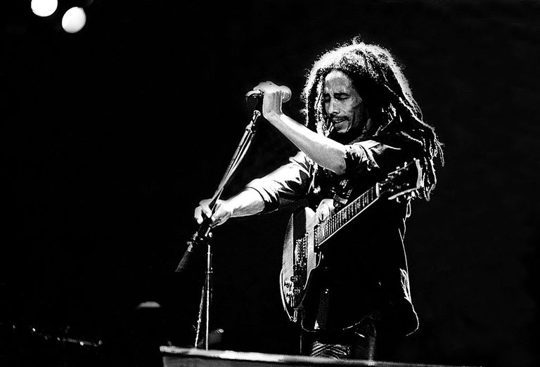 Bob Marley on Stage