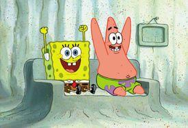 SpongeBob SquarePants and Patrick Star