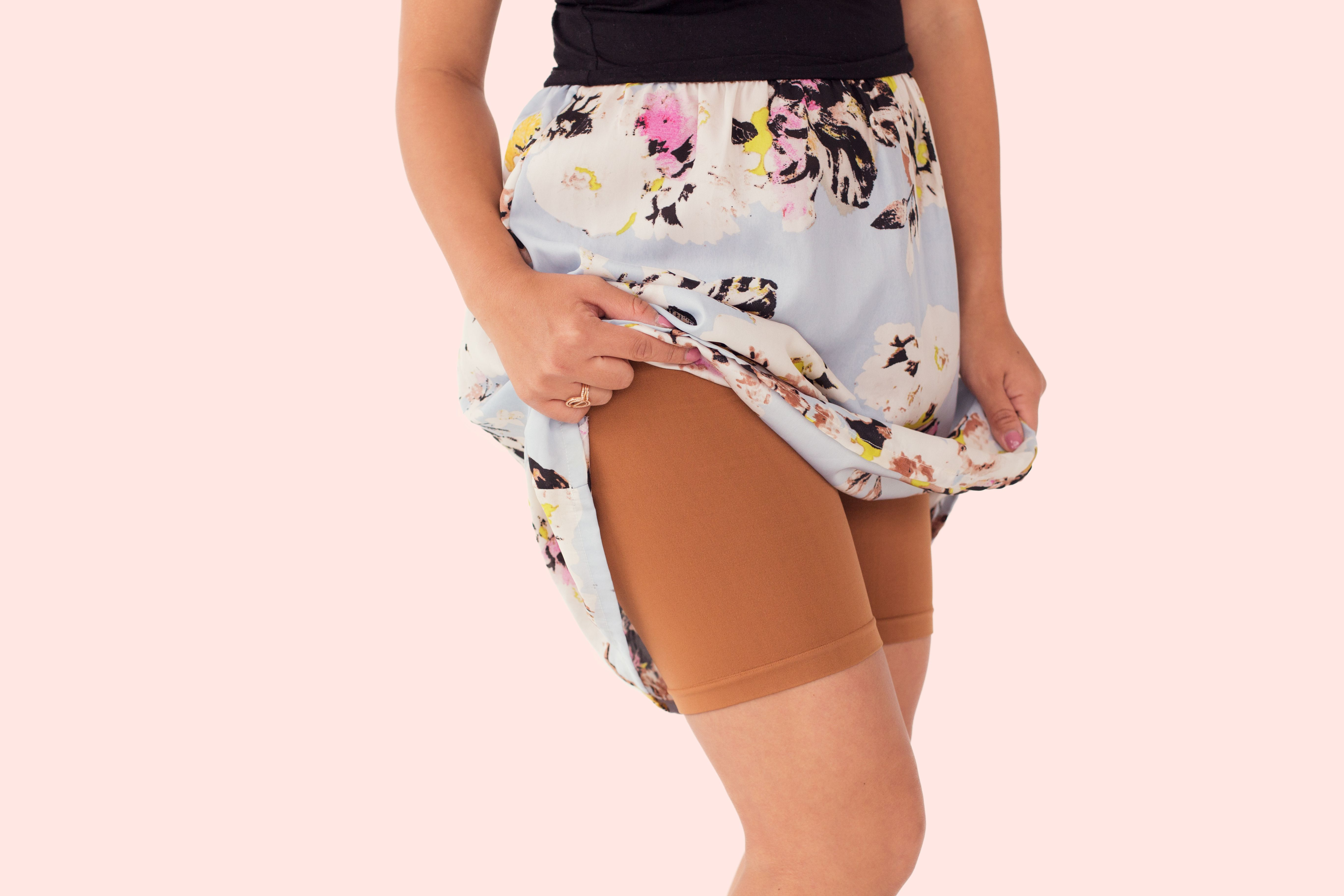b384371c57 Shorts to Wear Under Dresses and Skirts