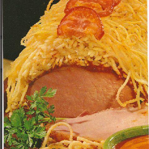 Pork With Spaghetti Supper