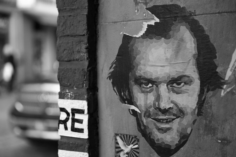 Jack Nicholson street art