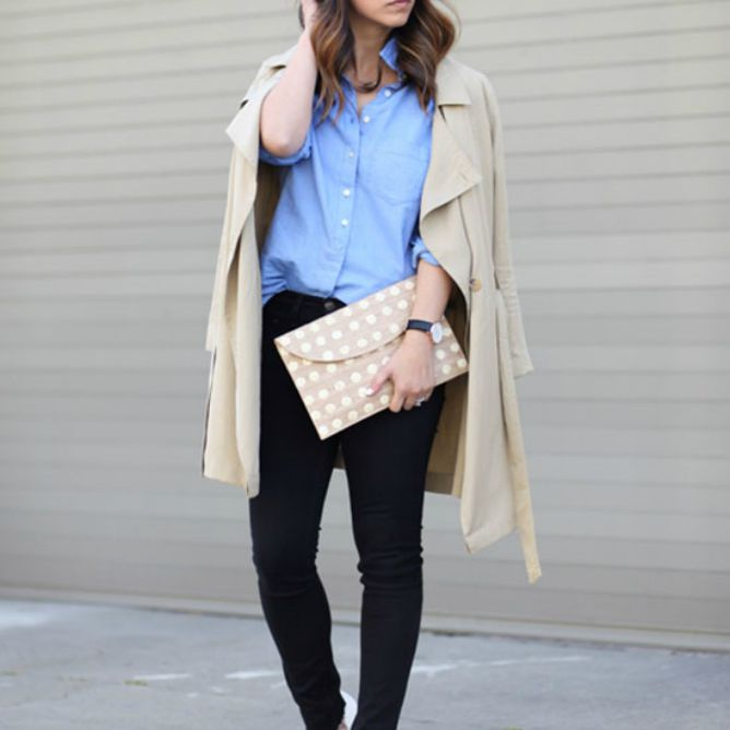 69a9c0a06 How to Wear Skinny Jeans For Work To Look Polished