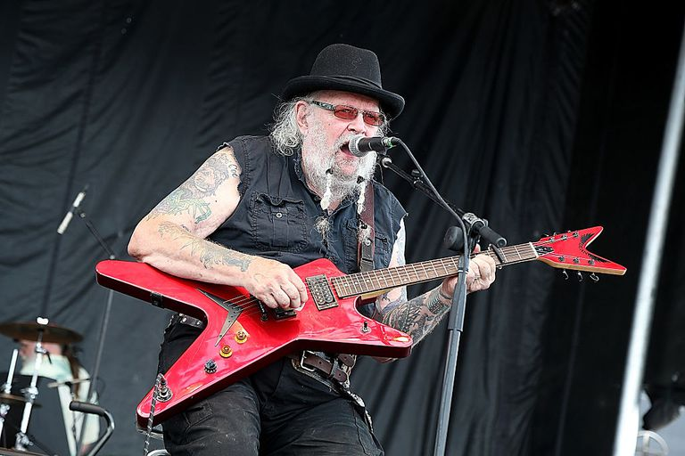 David Allan Coe performing live