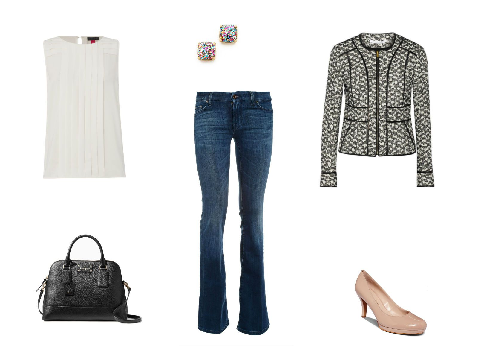 14ab869c How to Wear Bootcut Jeans: Fashionable Outfit Ideas