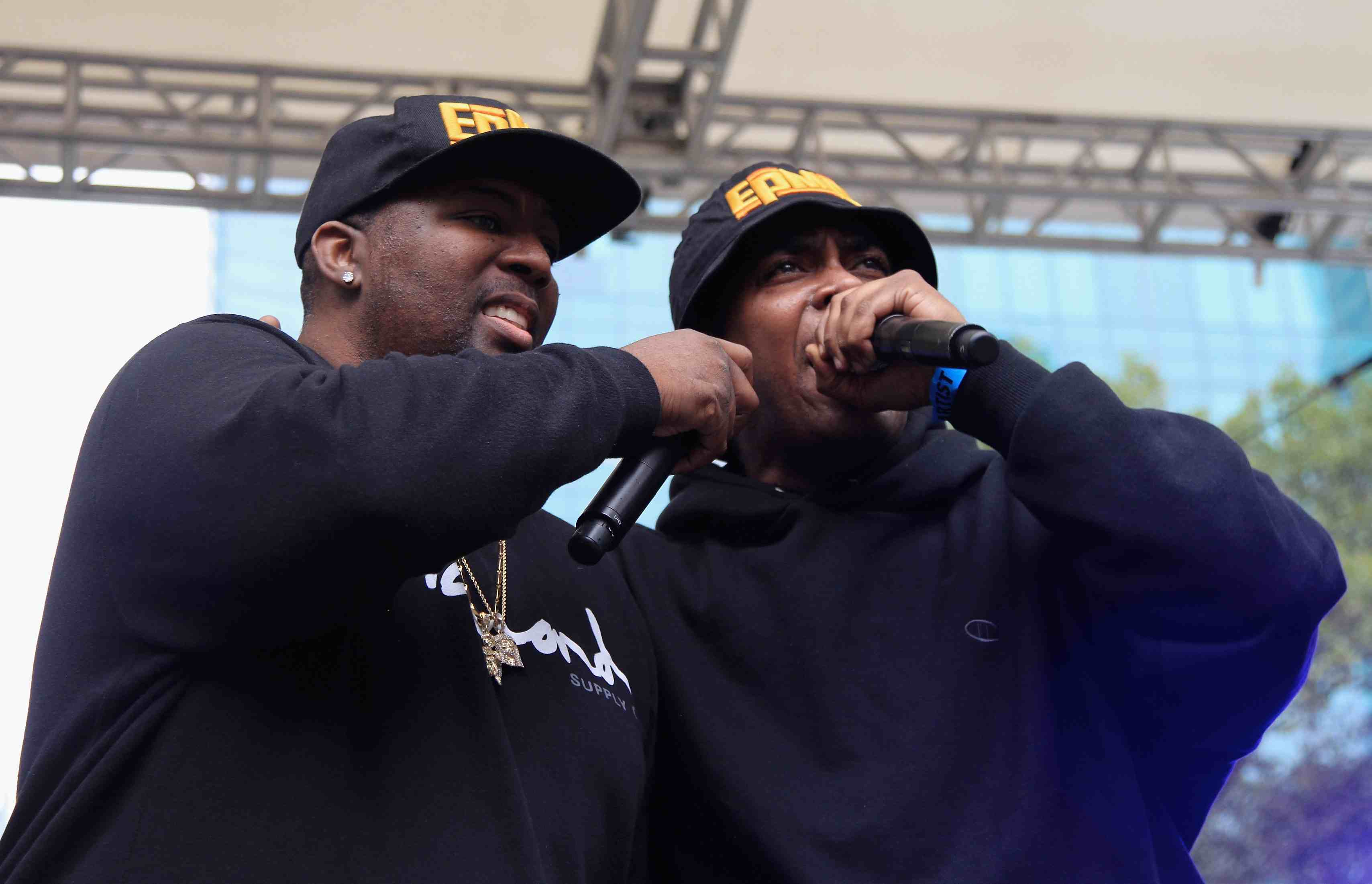 Rap duo EPMD in 2016