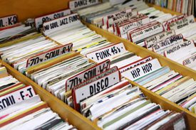 Various records organized by type.