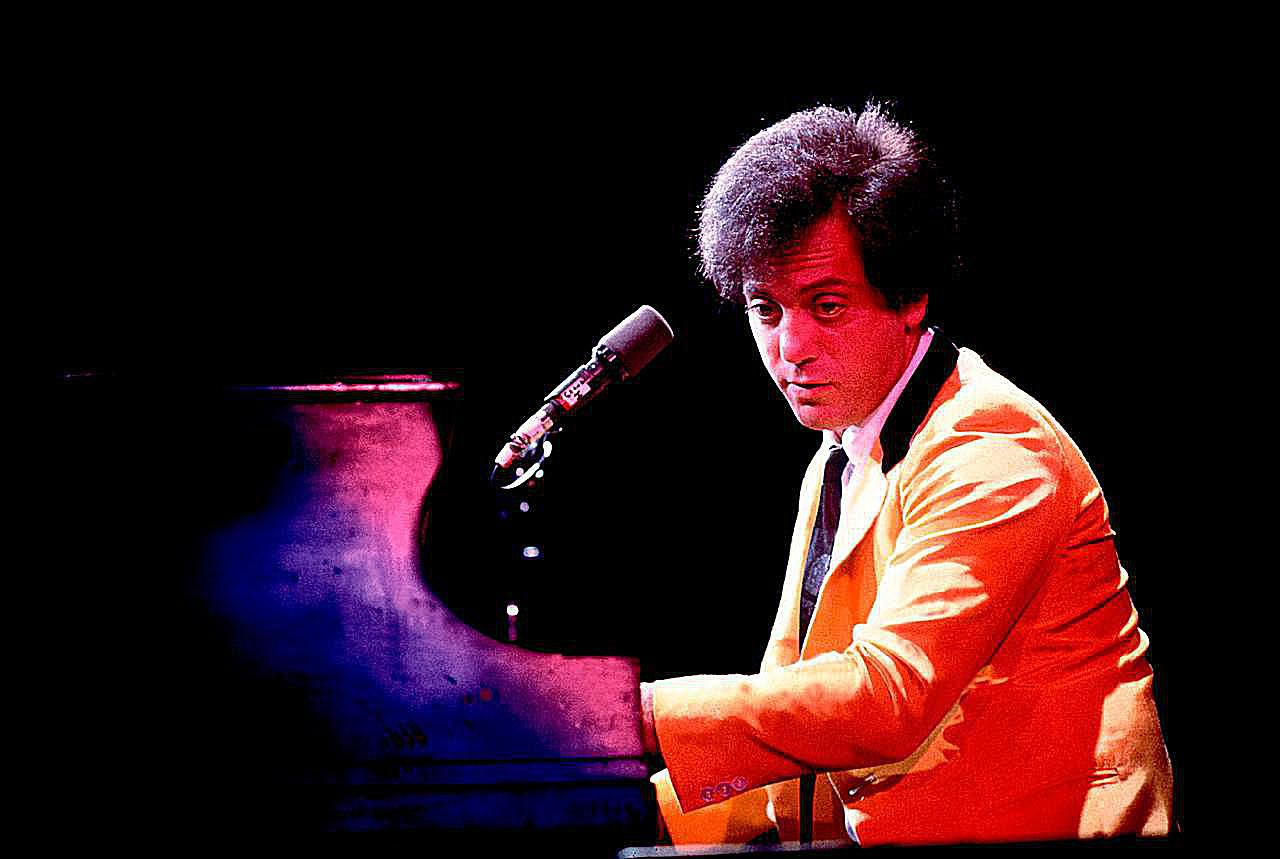 Billy Joel performing