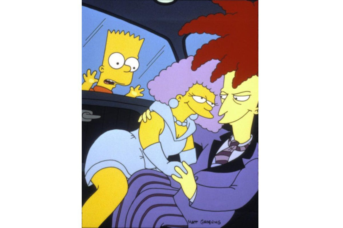 Black Widower - The Simpsons