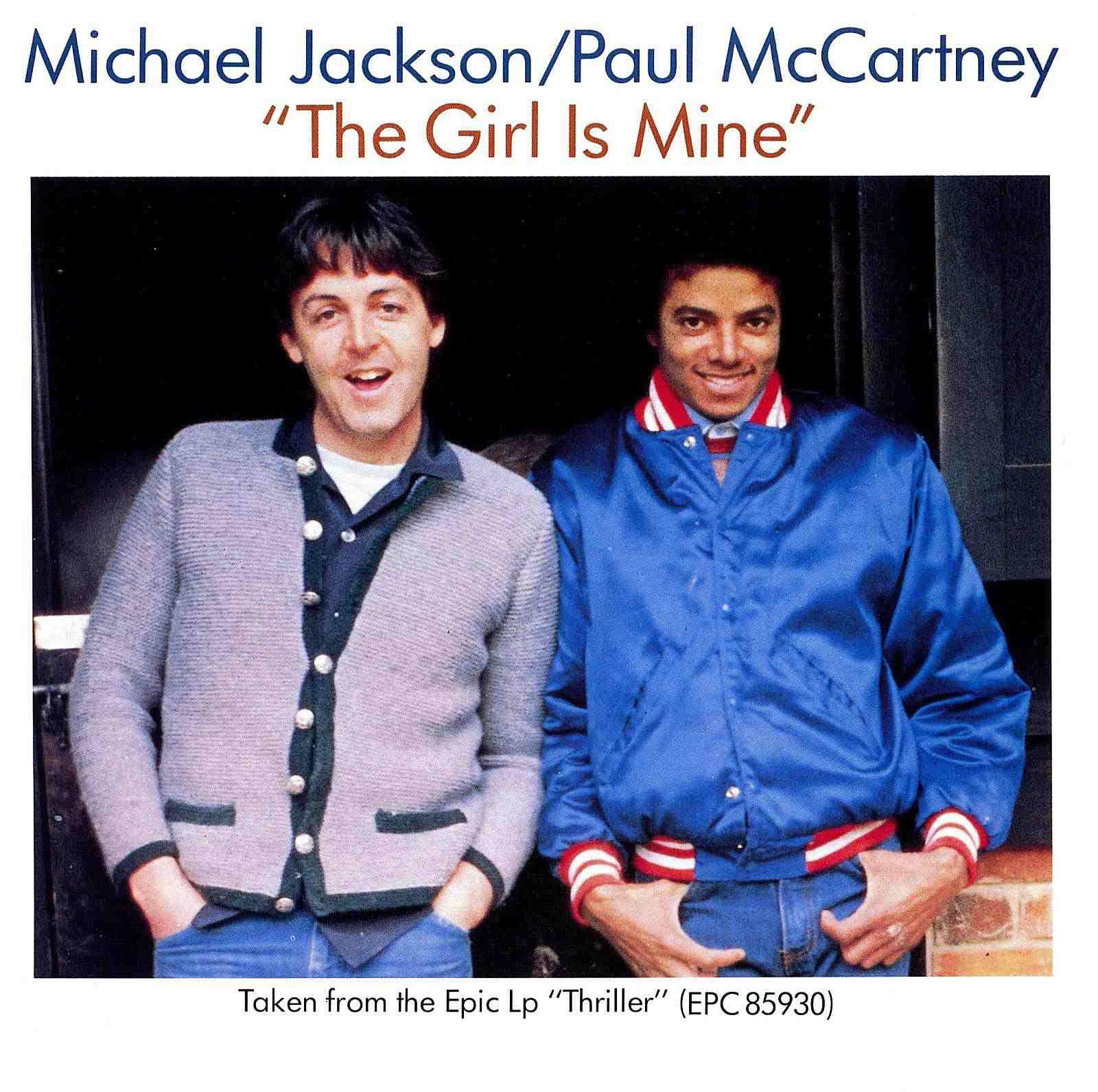 Michael Jackson and Paul McCartney - The Girl Is Mine