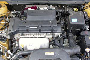 Car engine with MAP sensor.