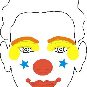 Face Painting Designs: Clown