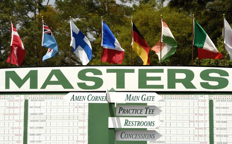 tickets for the masters 2020