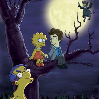 Tweenlight - Treehouse of Horror XXI - The Simpsons