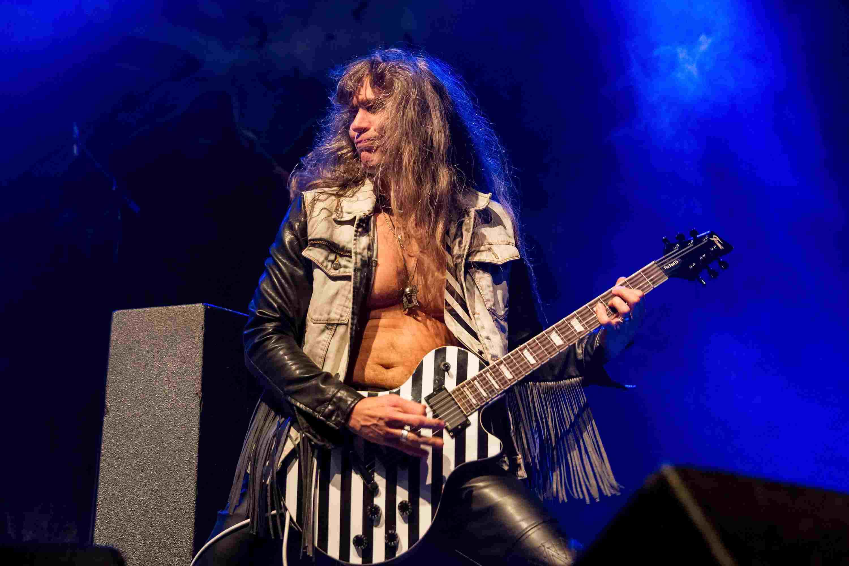 Guitarist Axel Ritt of Grave Digger