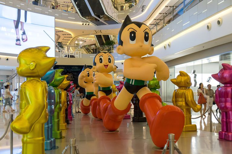 Astro Boy Exhibition At Shanghai IAPM
