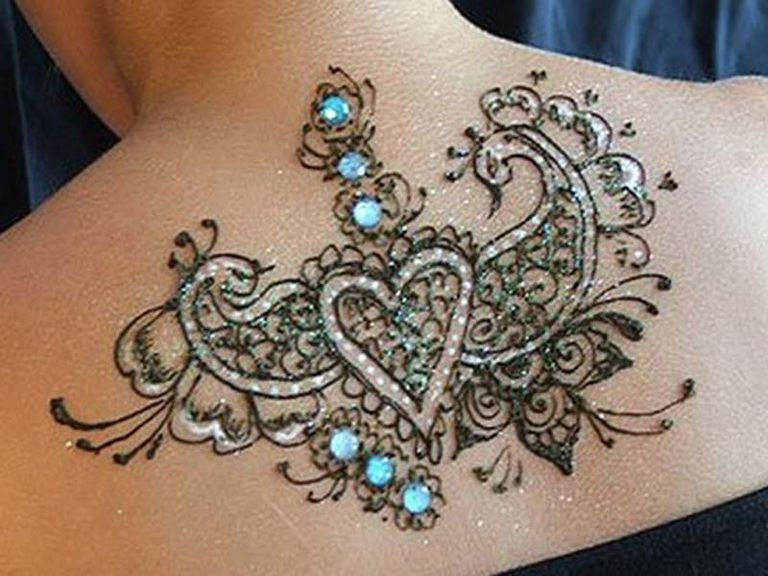 Tattoo Skin Art Showing Intricate Design