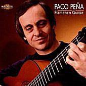 Album Cover for Paco Pena: 'Flamenco Guitar'