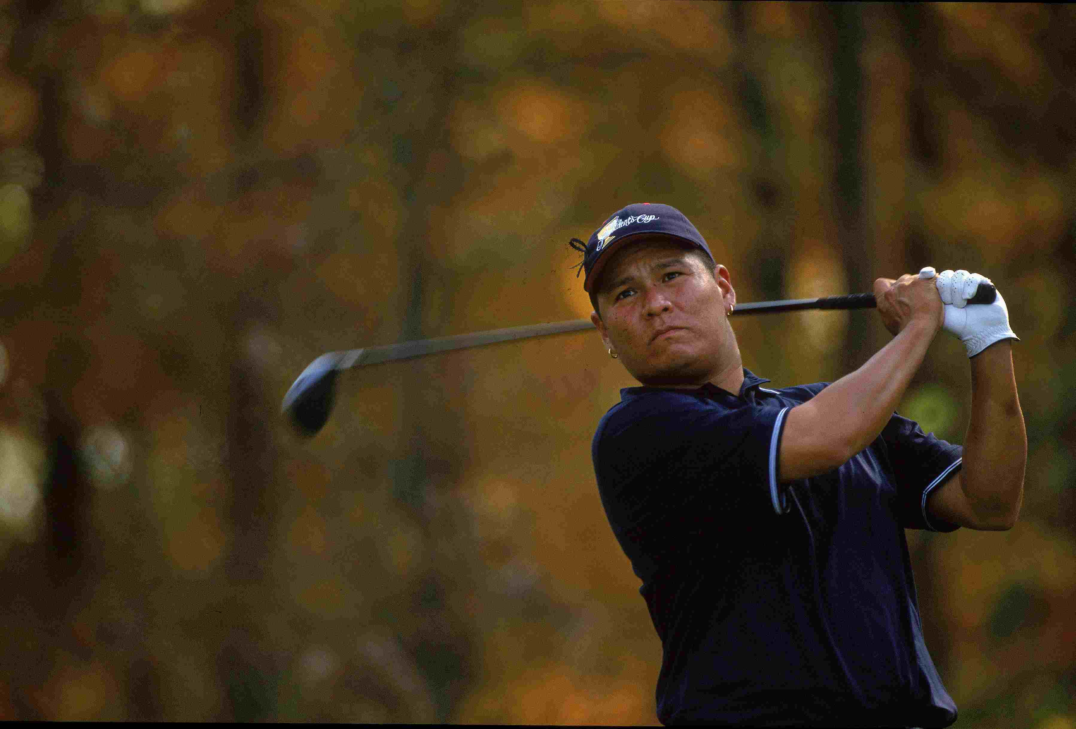 Notah Begay III during The Presidents Cup matches in 2000